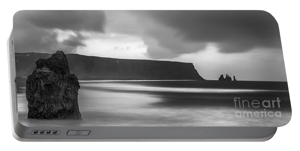 Iceland Portable Battery Charger featuring the photograph Reynisfjara Iceland 2 by Gunnar Orn Arnason