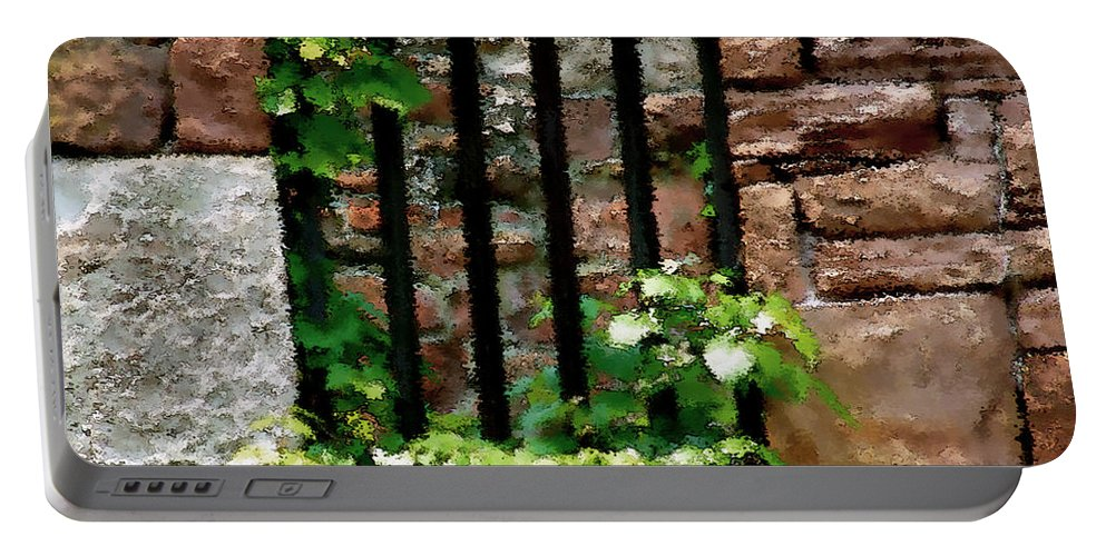 American History Portable Battery Charger featuring the digital art Rhus Radicans Triumphant by RC DeWinter