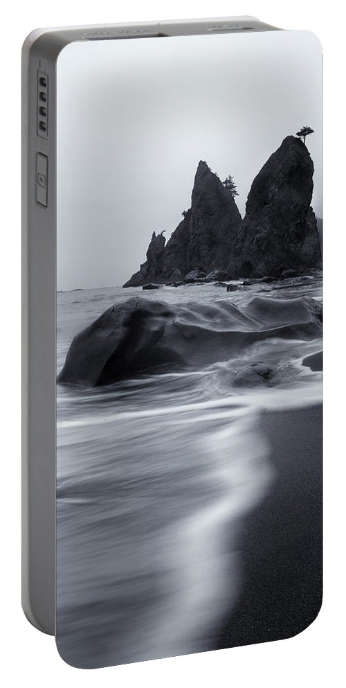 Beach Portable Battery Charger featuring the photograph Rialto View by Mike Dawson