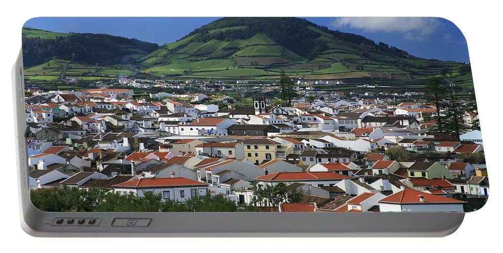 Azores Portable Battery Charger featuring the photograph Ribeira Grande by Gaspar Avila