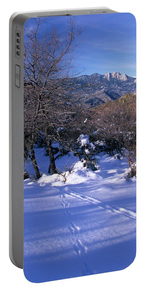 Rincon Trail Portable Battery Charger featuring the photograph Rincon Trail - Sequoia by Soli Deo Gloria Wilderness And Wildlife Photography