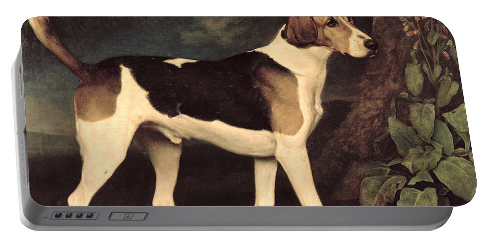 George Stubbs Portable Battery Charger featuring the painting Ringwood by George Stubbs