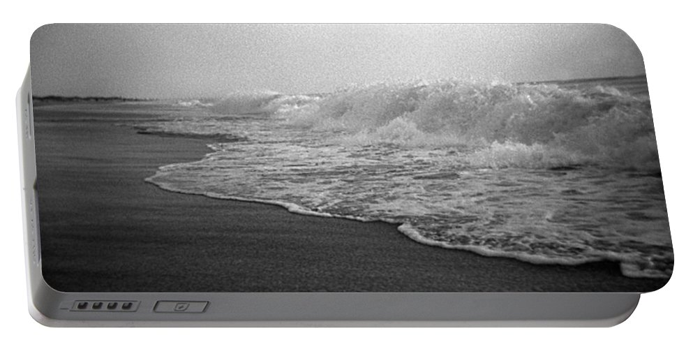 Ocean Portable Battery Charger featuring the photograph Ripple Effect by Jean Macaluso