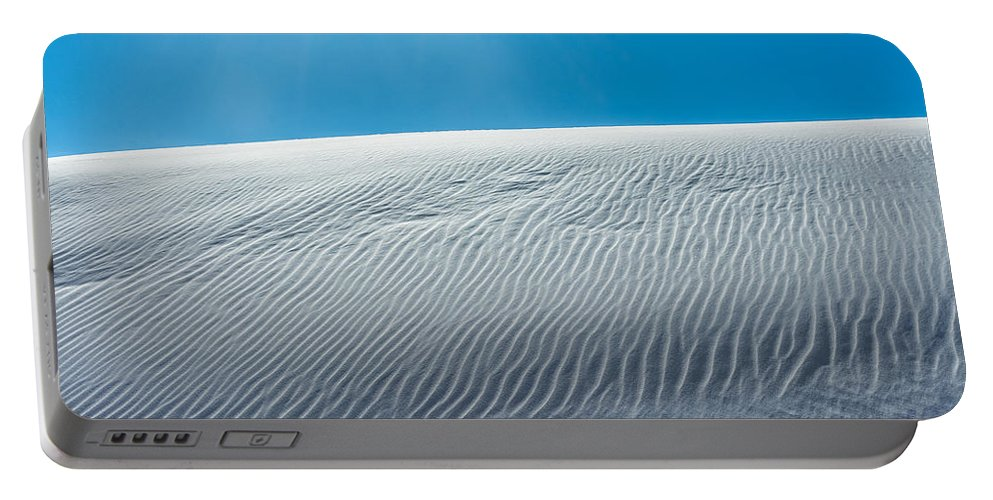 Desert Portable Battery Charger featuring the photograph Ripples by Racheal Christian