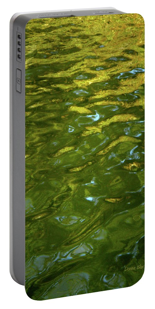 Water Portable Battery Charger featuring the photograph Rising Sun by Donna Blackhall