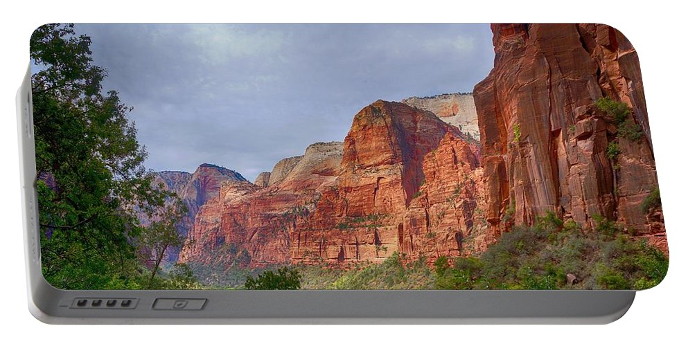 Ann Keisling Portable Battery Charger featuring the photograph Rising Up by Ann Keisling