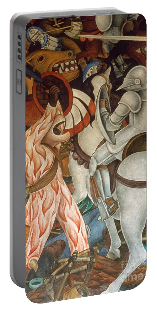 16th Century Portable Battery Charger featuring the photograph Rivera: Cuernavaca by Granger