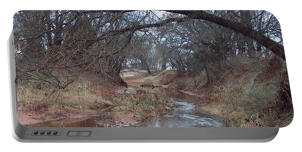 Landscapes Portable Battery Charger featuring the photograph Rivers Bend by Shari Chavira