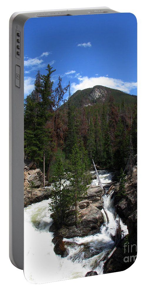 Colorado Portable Battery Charger featuring the photograph Roar by Amanda Barcon