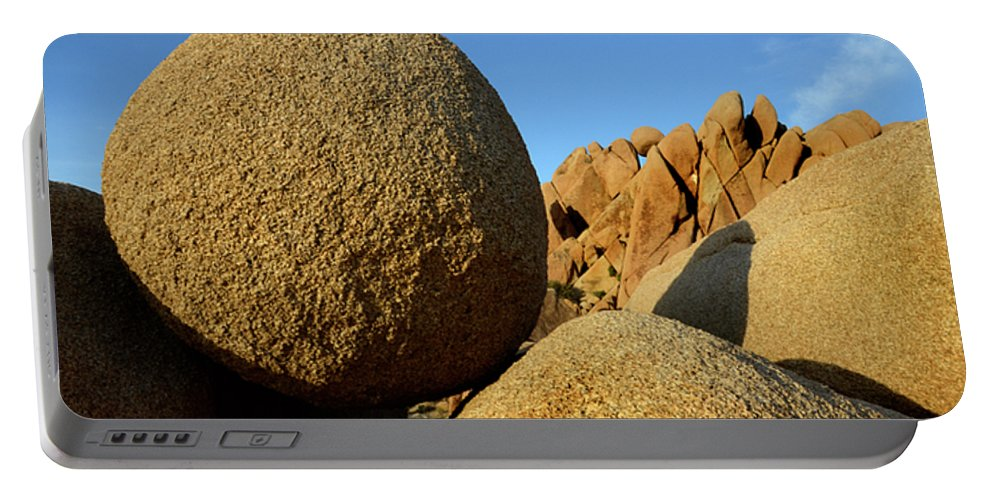 Joshua Tree National Park Portable Battery Charger featuring the photograph Rock And Roll by Bob Christopher