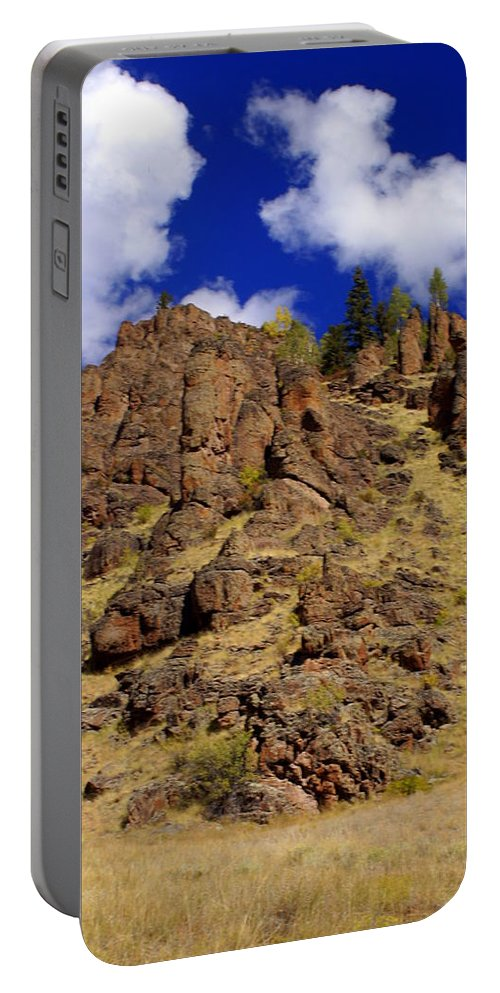 Colorado Portable Battery Charger featuring the photograph Rocky Butte by Marty Koch