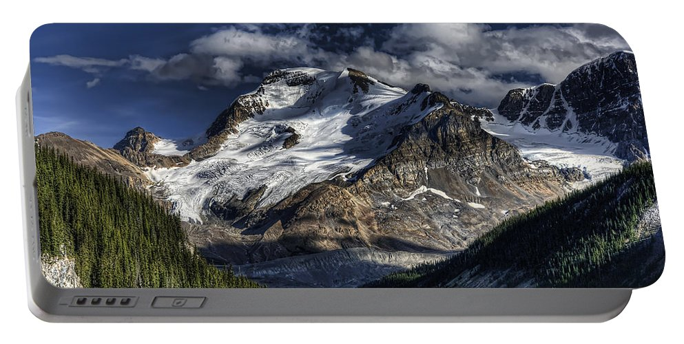 Canada Portable Battery Charger featuring the photograph Rocky Mountain High by Wayne Sherriff