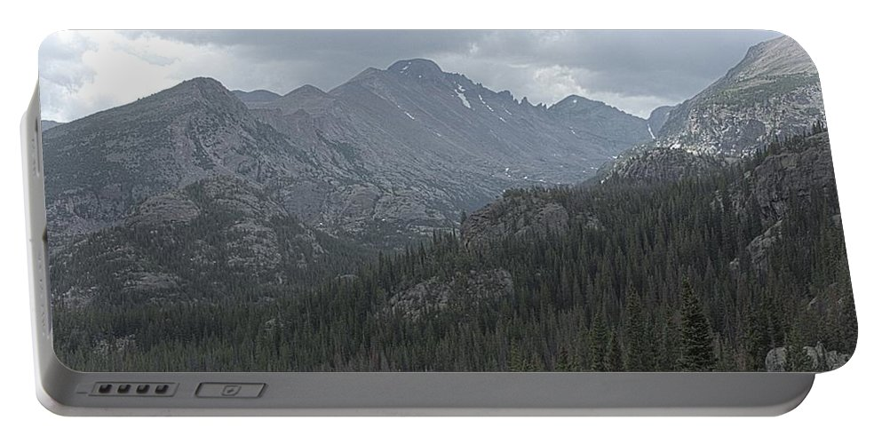 Colorado Portable Battery Charger featuring the photograph Rocky Mountain National Park by Timothy Ruf