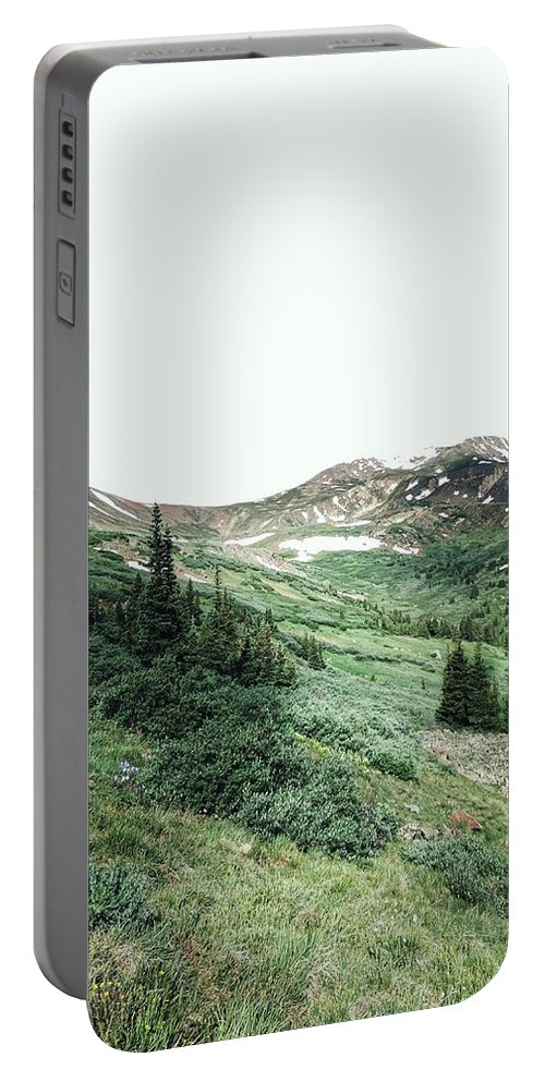 Portable Battery Charger featuring the photograph Rocky Mountain Vibes by Kristina Jenson