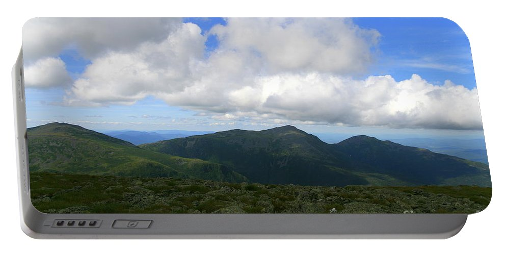 White Mountains Portable Battery Charger featuring the photograph Rocky Mountain Way by Neal Eslinger