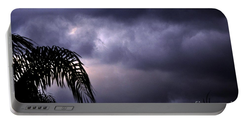 Clay Portable Battery Charger featuring the photograph Rolling In . . . by Clayton Bruster