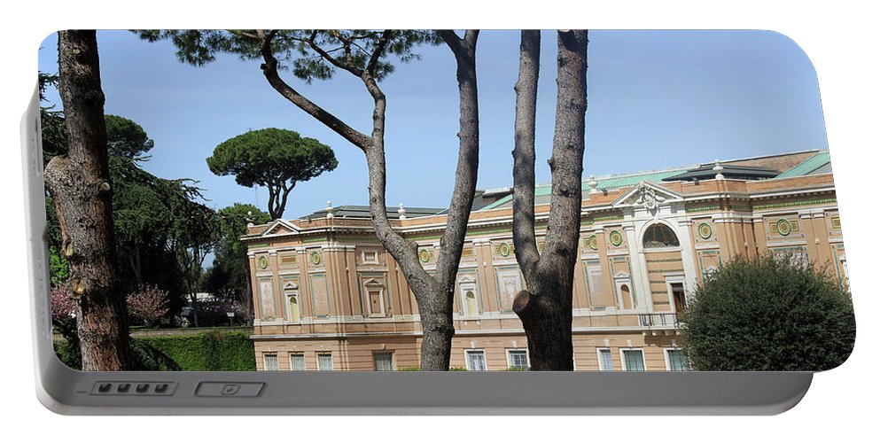 Museum Portable Battery Charger featuring the photograph Rome Museum by Munir Alawi