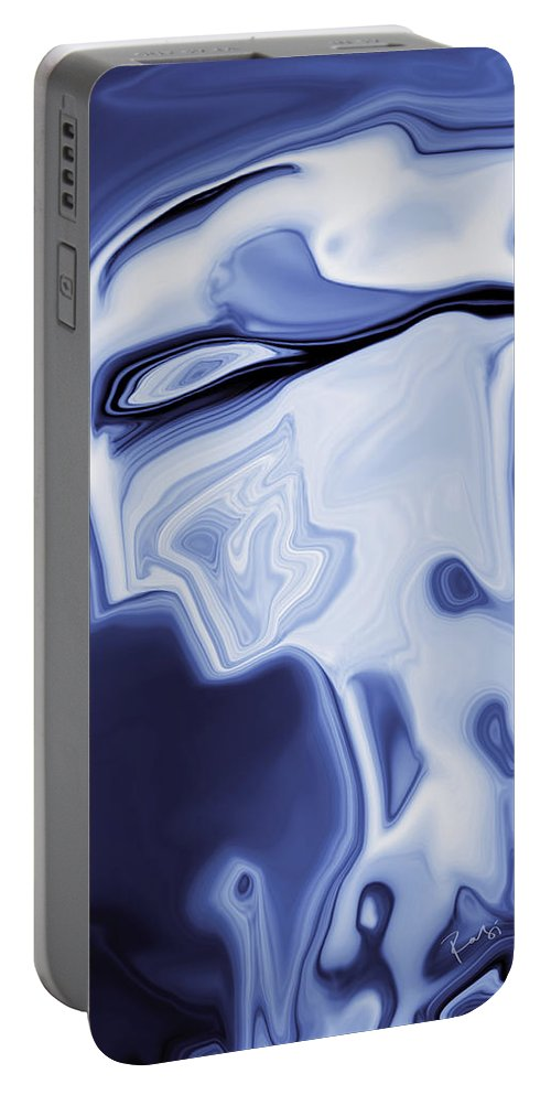 Art Portable Battery Charger featuring the digital art Romeo by Rabi Khan