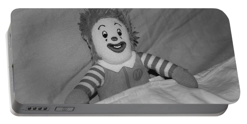 Ronald Mcdonald Portable Battery Charger featuring the photograph Ronald Mcdonald by Rob Hans