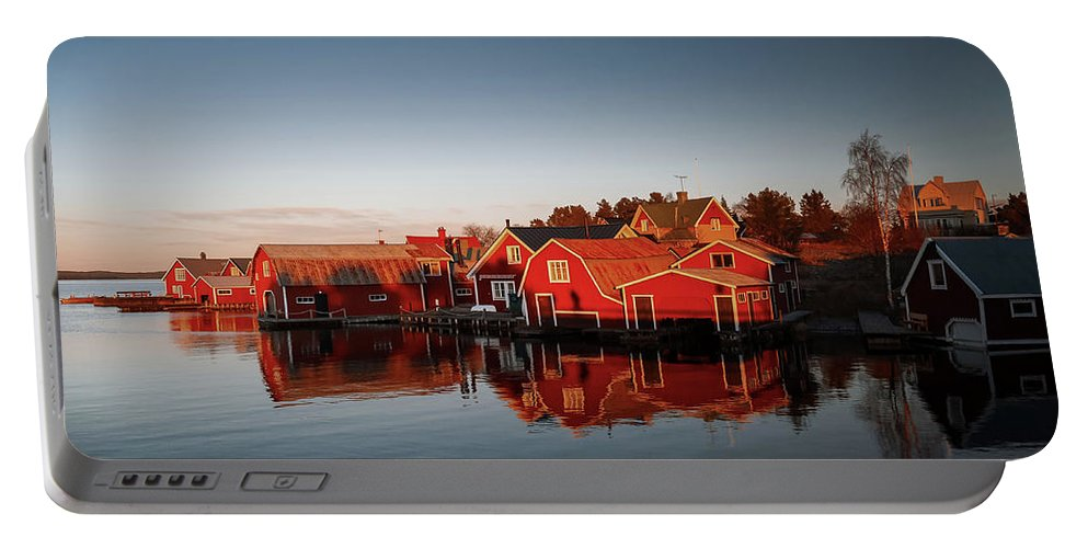 R�nnsk�r Sweden Portable Battery Charger featuring the photograph Ronnskar Sweden by Mikael Jenei