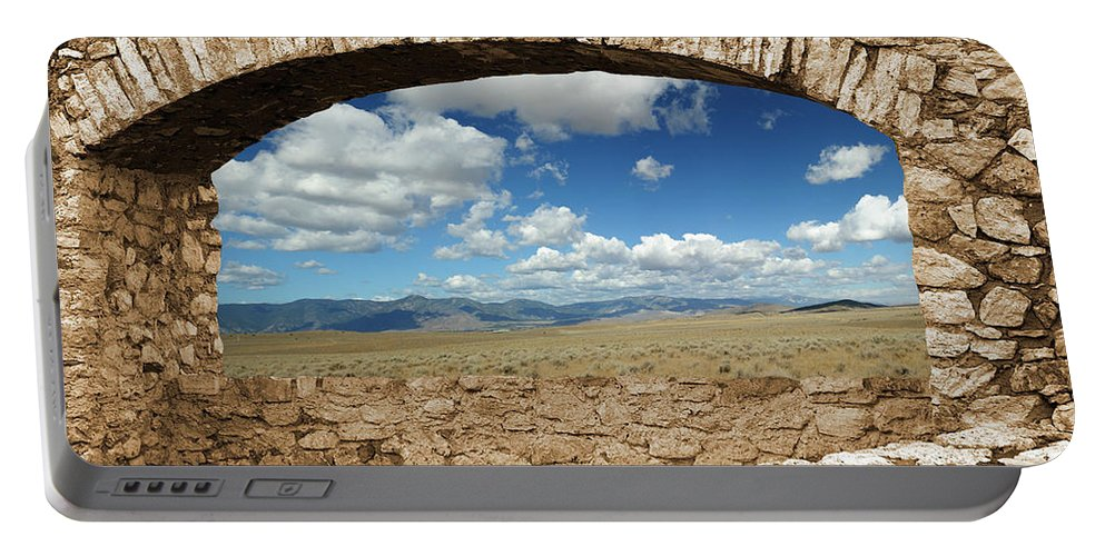 Clouds Portable Battery Charger featuring the photograph Room With A View by Dennis Bolton
