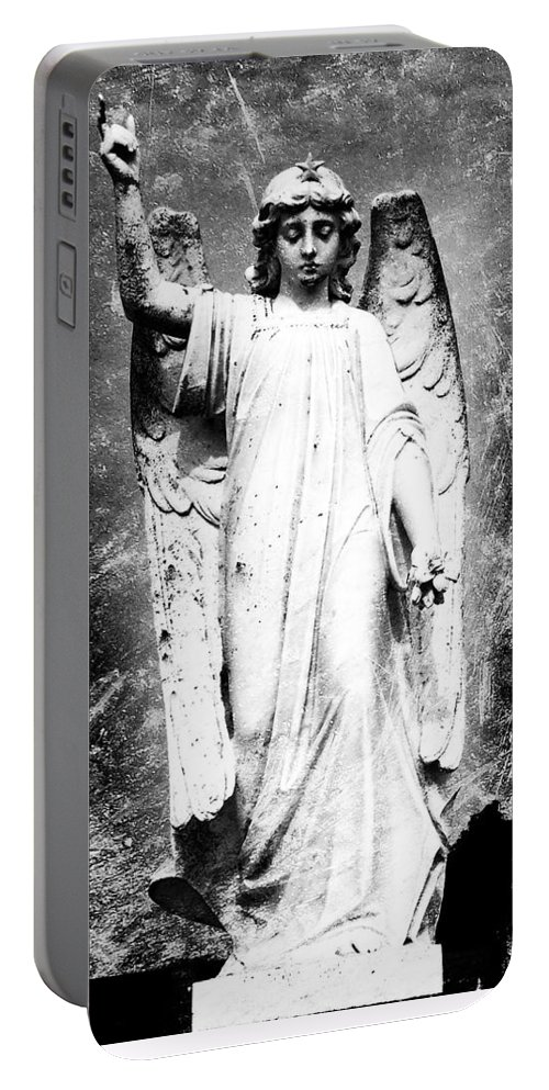 Roscommon Portable Battery Charger featuring the photograph Roscommon Angel No 2 by Teresa Mucha