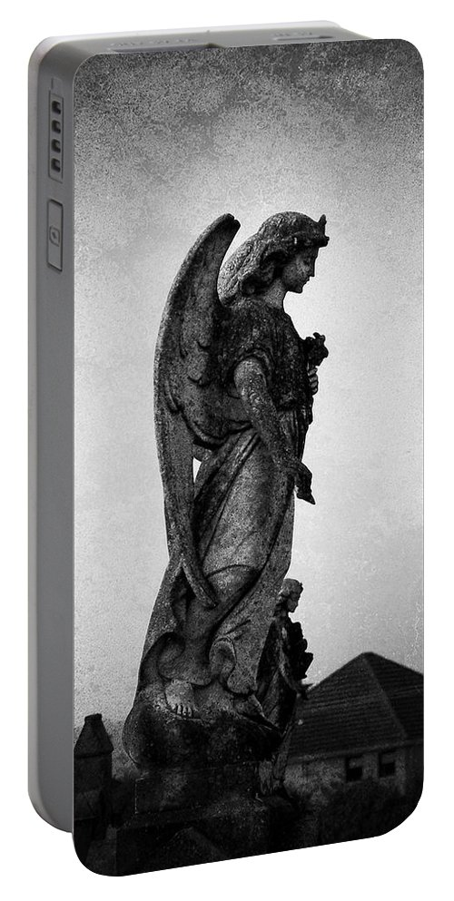 Roscommon Portable Battery Charger featuring the photograph Roscommonn Angel No 4 by Teresa Mucha