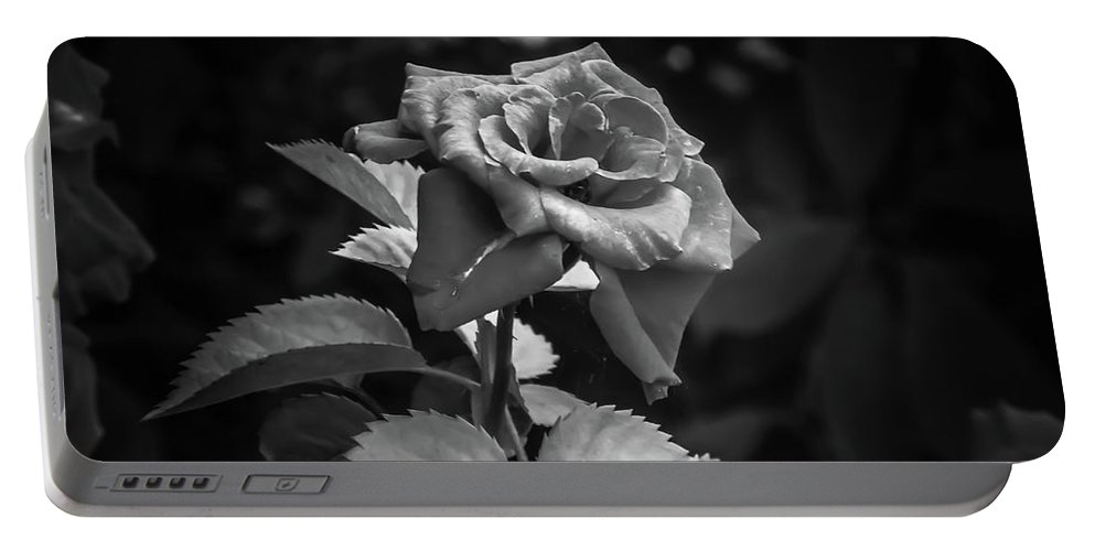 Portable Battery Charger featuring the photograph Rose by Sawan Jagnarain