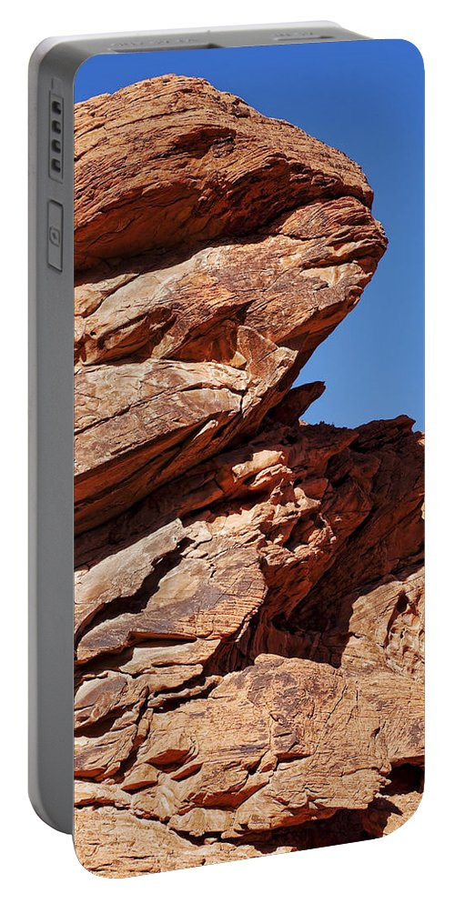 Rocks Portable Battery Charger featuring the photograph Rugged Beauty by Kelley King