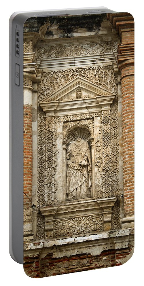 Ruins Portable Battery Charger featuring the photograph Ruins Of Antigua Guatemala by Douglas Barnett