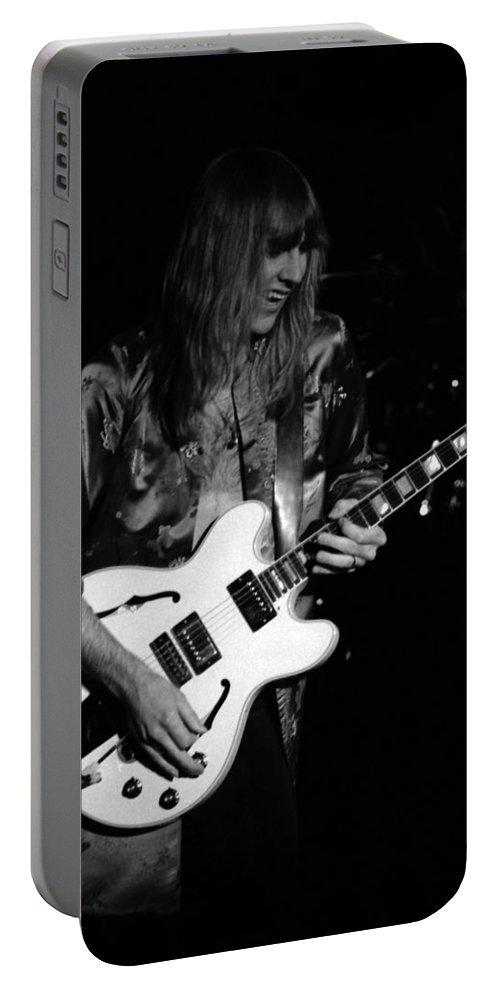 Classic Rock Portable Battery Charger featuring the photograph Rush 77 #17 by Ben Upham
