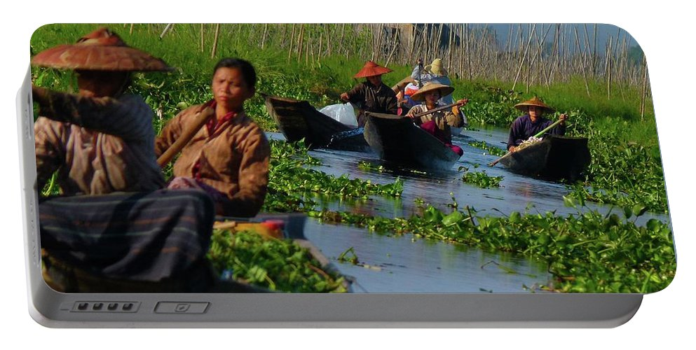 Asia Portable Battery Charger featuring the photograph Rush Hour by Blas Munoz
