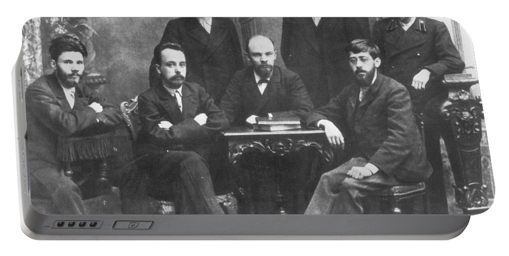 1897 Portable Battery Charger featuring the photograph Russian Marxists, 1897 by Granger