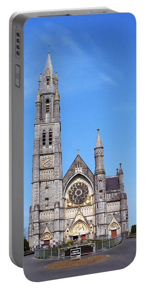 Ireland Portable Battery Charger featuring the photograph Sacred Heart Church Roscommon Ireland by Teresa Mucha
