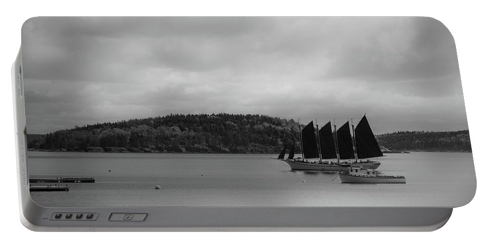 Sail Portable Battery Charger featuring the photograph Sail Boat by Farshid Modarres