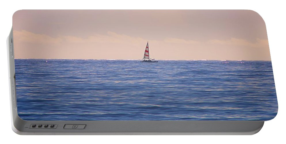 Sail Boat Portable Battery Charger featuring the photograph Sail by Jackie Dorr
