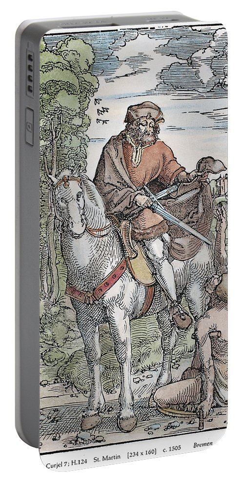 1505 Portable Battery Charger featuring the photograph Saint Martin (c316-397) by Granger