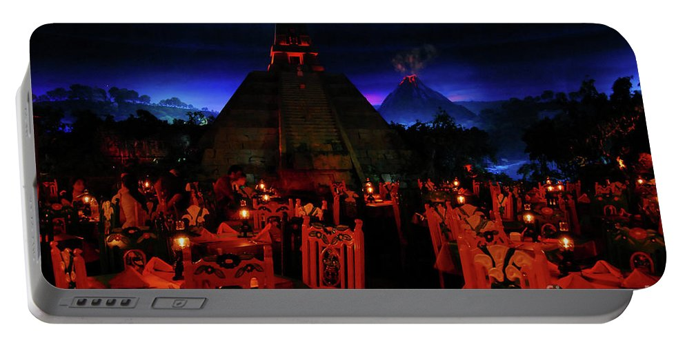 Fine Art Photography Portable Battery Charger featuring the photograph San Angel Inn Mexico by David Lee Thompson