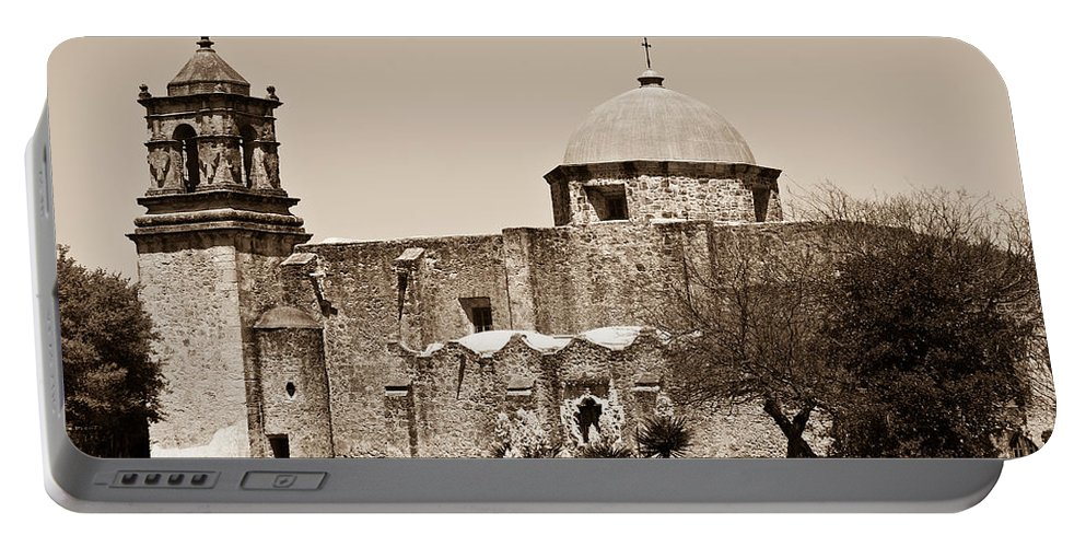 San Antonio Portable Battery Charger featuring the photograph San Antonio by Sebastian Musial