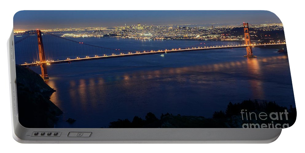 San Francisco Portable Battery Charger featuring the photograph San Francisco by Bob Christopher