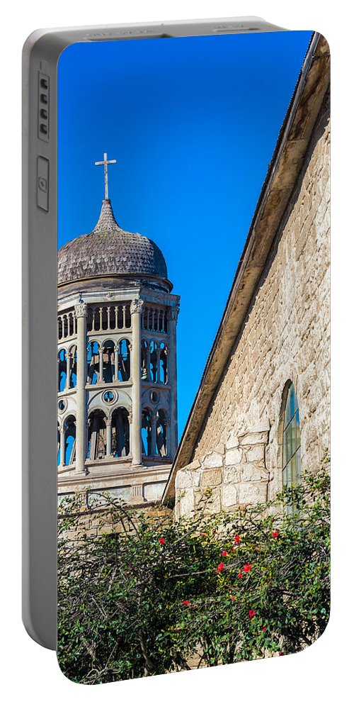 La Serena Portable Battery Charger featuring the photograph San Francisco Church by Jess Kraft