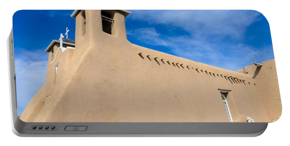 San Francisco De Assisi Mission Church Portable Battery Charger featuring the photograph San Francisco De Assisi Church by Debra Martz