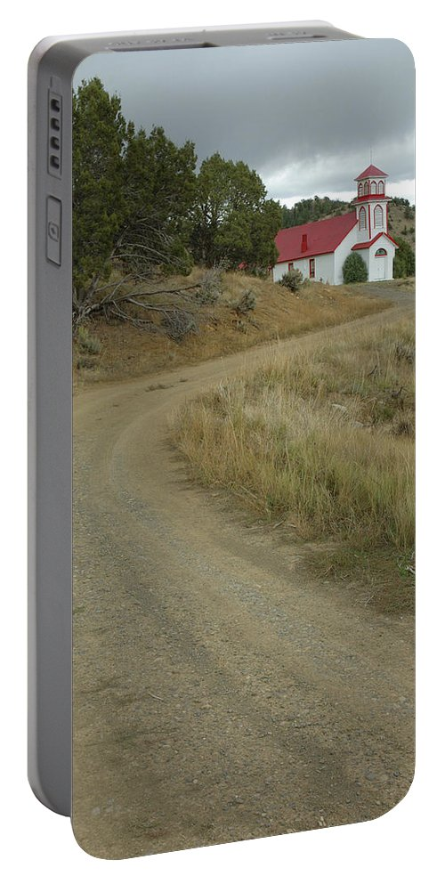 Church Portable Battery Charger featuring the photograph San Iglesia Church by Jerry McElroy