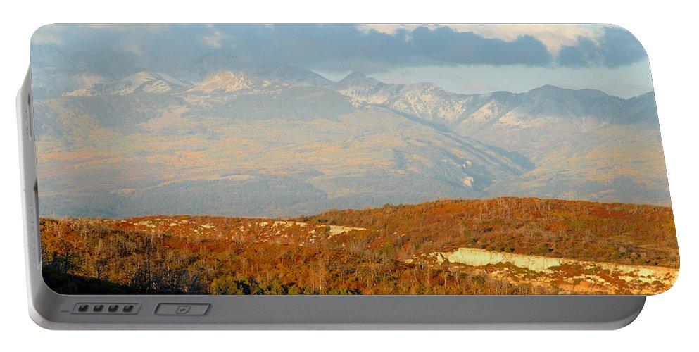 San Juan Mountains Colorado Portable Battery Charger featuring the photograph San Juan Mountains by David Lee Thompson
