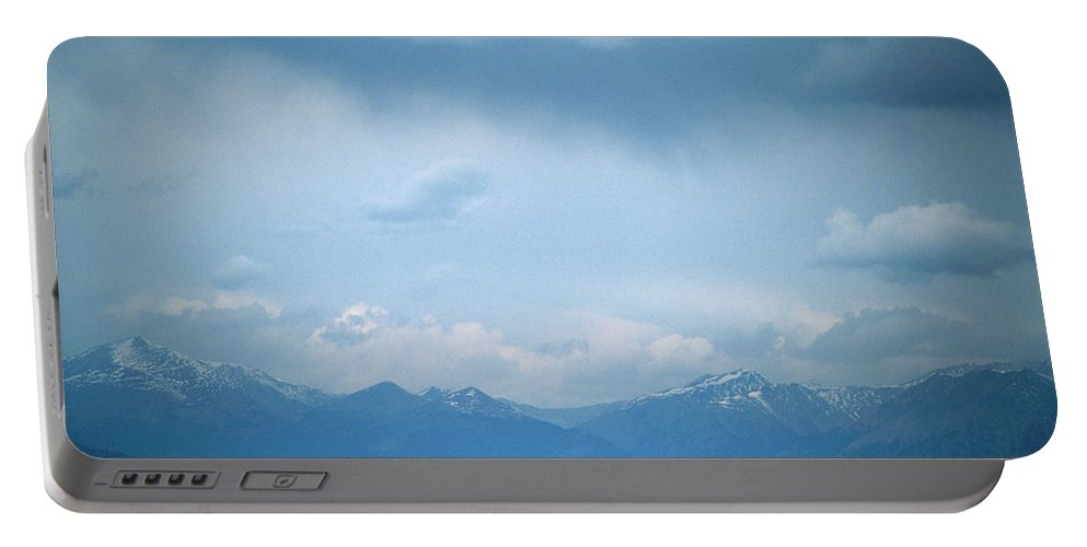 San Luis Valley Portable Battery Charger featuring the photograph San Luis Valley by Soli Deo Gloria Wilderness And Wildlife Photography