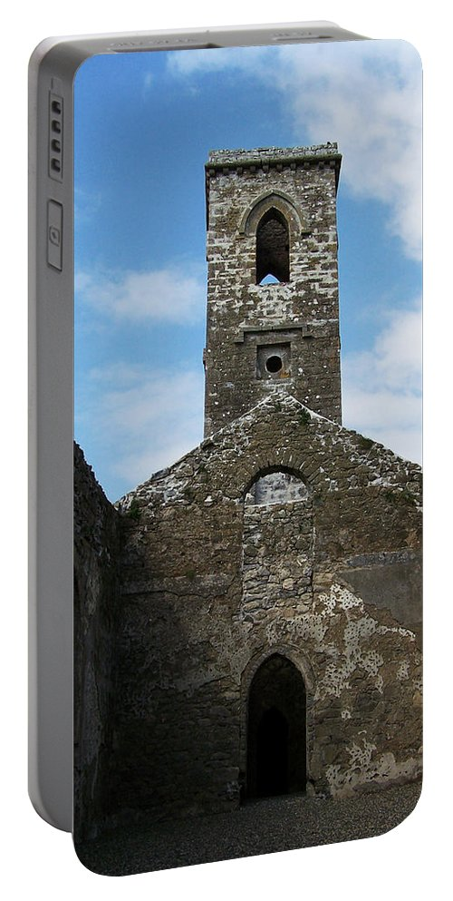 Ireland Portable Battery Charger featuring the photograph Sanctuary Fuerty Church Roscommon Ireland by Teresa Mucha