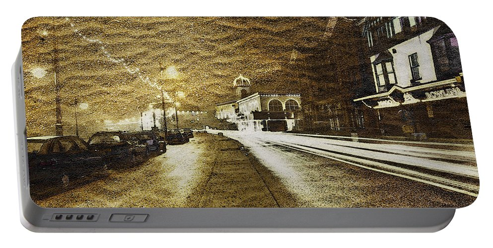 Architecture Portable Battery Charger featuring the photograph Sand City by Svetlana Sewell