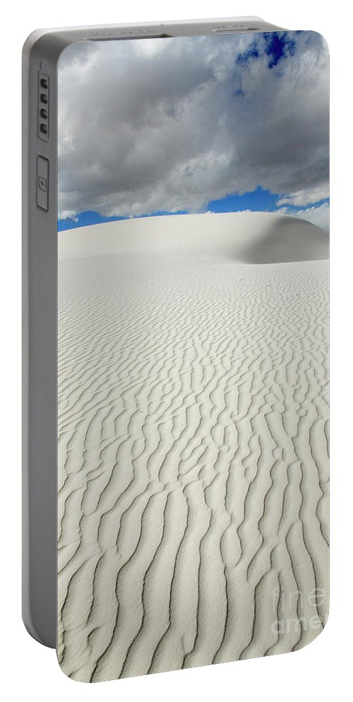 Sand Portable Battery Charger featuring the photograph Sand Dune Magic 4 by Bob Christopher