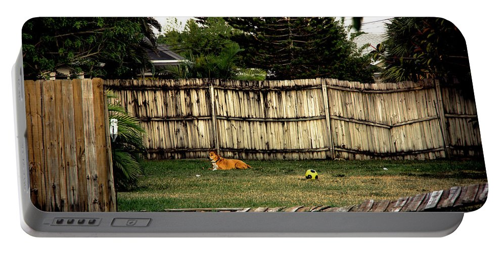 Sandlot Portable Battery Charger featuring the photograph Sandlot by Michael Frizzell