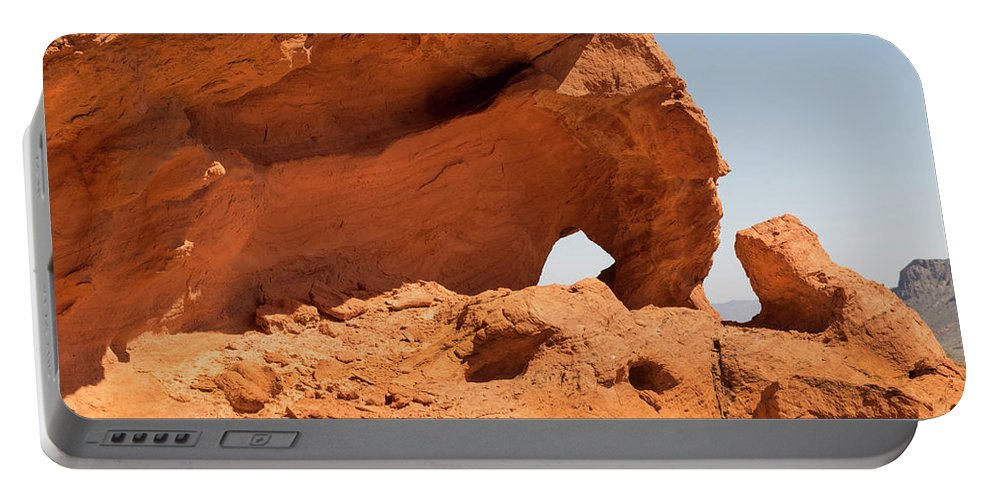 Landscape Portable Battery Charger featuring the photograph Sandstone Wonder Valley Of Fire by Frank Wilson